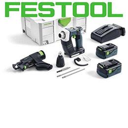Festool: aspiratori, levigatrici, trapani avvitatori. Tutta la gamma prodotti!