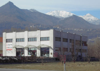 Progetto Colore - immagine originale dell'edificio