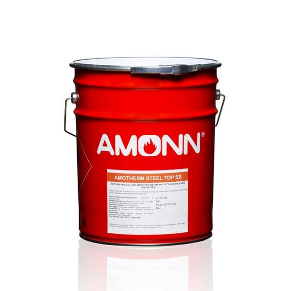 Vernici Amotherm Steel per proteggere l'acciaio dal fuoco