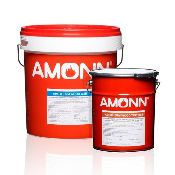 Amotherm Wood: vernici per proteggere dal fuoco pareti/rivestimenti e soffitti in legno