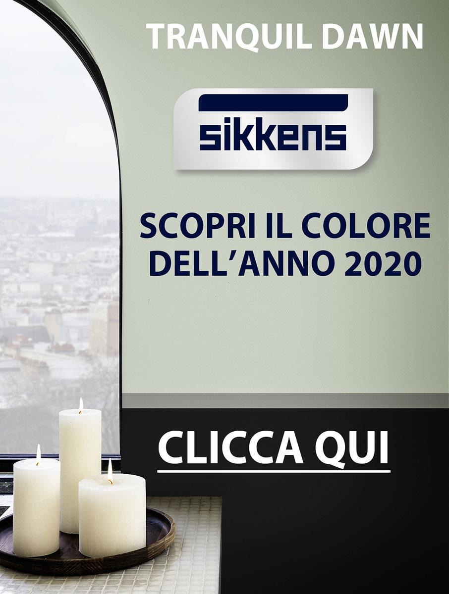 TRANQUIL DAWN: Il colore del 2020 SIKKENS