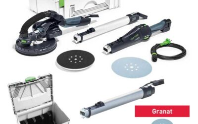 Levigatrice a stelo Festool Planex LHS 225 EQ-Plus 575217 + Set accessori