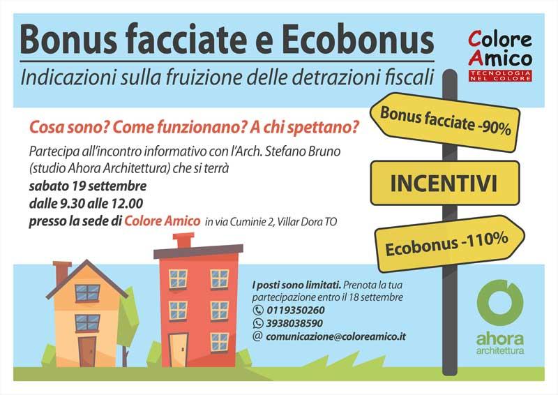 Bonus facciate e Ecobonus