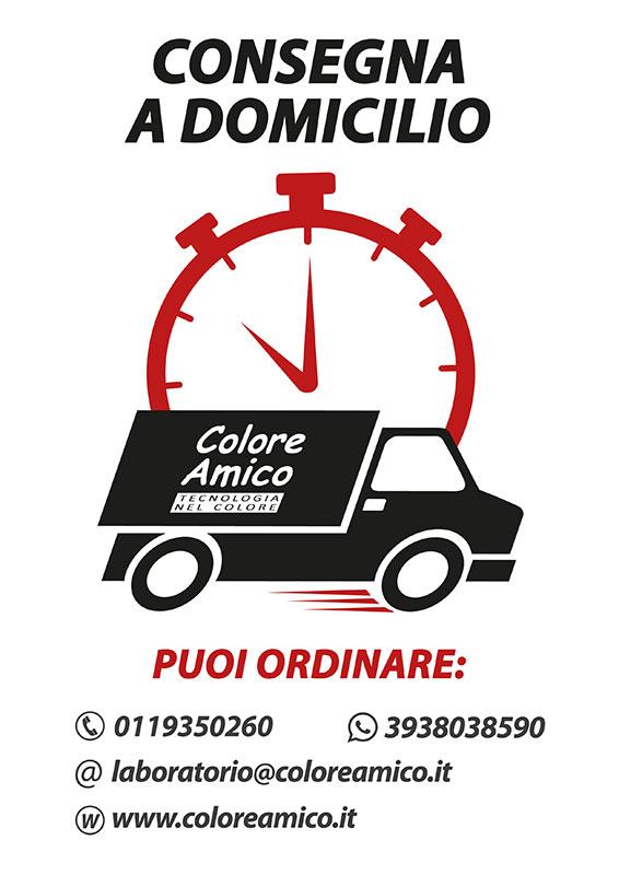 Colore Amico: servizio consegna a domicilio per emergenza COVID-19